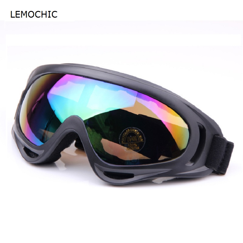 LEMOCHIC outdoor men women sport eye protector glasses mountaineering hunting skiing dust-proof wind-proof high quality goggles