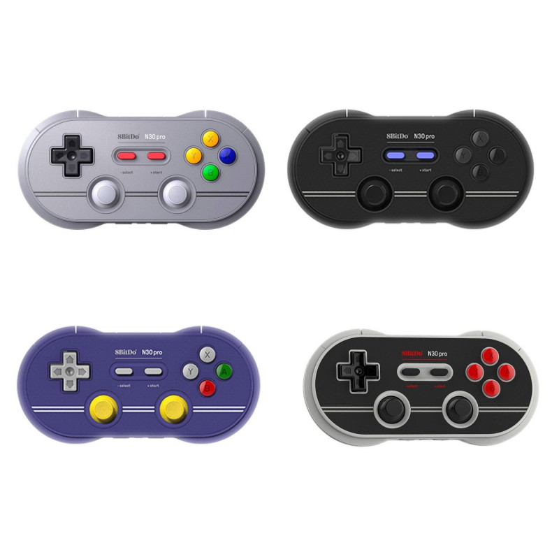 8BitDo N30 Pro 2 Bluetooth Gamepad Wireless Controller With Joystick for Switch Computer Mobile Phone8BitDo N30 Pro 2 Bluetooth Gamepad Wireless Controller With Joystick for Switch Computer Mobile Phone
