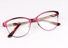 B Acético Do Olho de Gato Óculos de Armação de Metal Óptico Miopia Dos  Homens Do Vintage Design Eyewear Gafas Oculos de Gra. 5af207def7