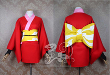 Gintama Kagura Yoshiwara tradicional cos Cosplay del vestido del traje adulto Anime ropa disfraces de Halloween para mujeres