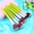 Nuevo 2015 Nueva Calidad 23 unids Bambú Mango de Cepillo Del Maquillaje Fundación Cosmética Blending Pinceles Kit