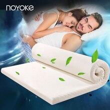 Noyoke Толщина 5 см высокой плотности США импортируют из пены памяти Медленный отскок кровать наматрасник пены памяти мягкая кровать матрас