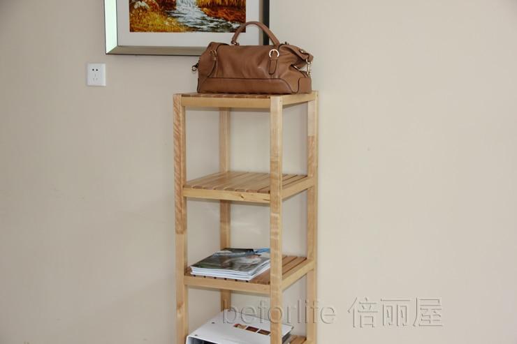 Ikea Badkamer Ikea : Clapboard wood shelving storage rack shelf bathroom shelf ikea