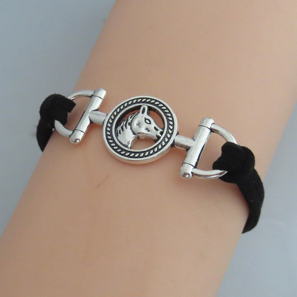 Infinity Horse Bracelet Charm Woman Man Bracelets Jewelry Gift 2pcs In From Accessories On Aliexpress