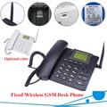 GSM fixed wireless phone Quadband SIM Card SMS Funzione Desktop Telefono Russo Francese Spagnolo Portoghese