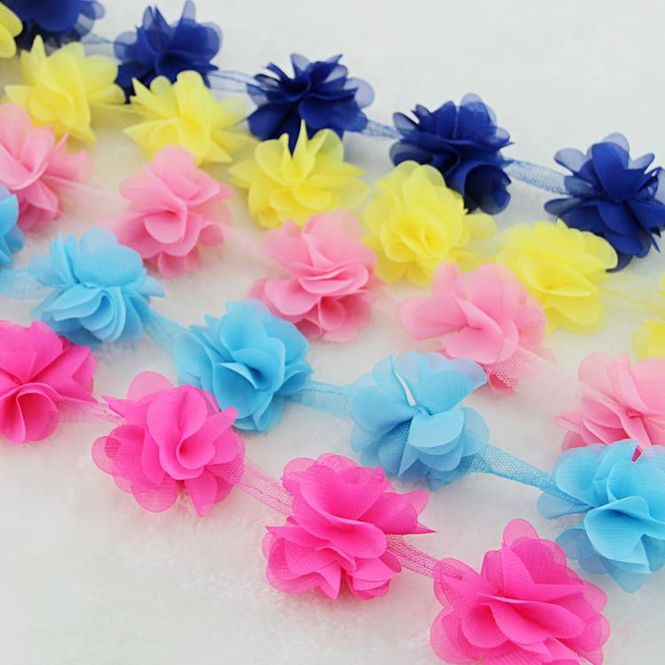 10 oborre / shumë shumëngjyrësh 3D 6 gjethe byrynxhyk Lule - Arte, zanate dhe qepje - Foto 3