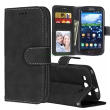 Matte Leather Case For Samsung Galaxy S3 Case Wallet Flip Cover For Samsung Galaxy S3 i9300 Mobile Phone Cases S3 Neo GT-i9300 стоимость