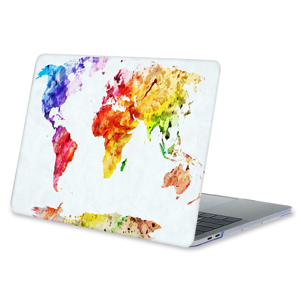 For macbook pro 13 15 with retina 12 shell world map print plactis for macbook pro 13 15 with retina 12 shell world map print plactis hard case gumiabroncs Gallery
