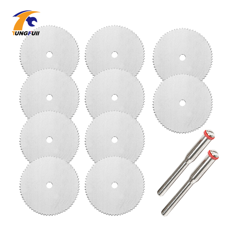 Dutoofree Saw Blade For Tools Dremel Rotary Tool Cutting Discs Dremel 10Pcs 22 25 32mm Power Tool Electric Drill Accessories