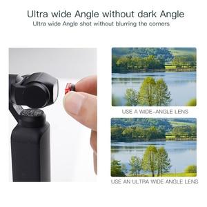 Image 5 - JINSERTA Ultra רחב זווית עדשת לdji אוסמו כיס, מקצועי HD מגנטי מבנה עדשה עבור אוסמו כיס אבזרים