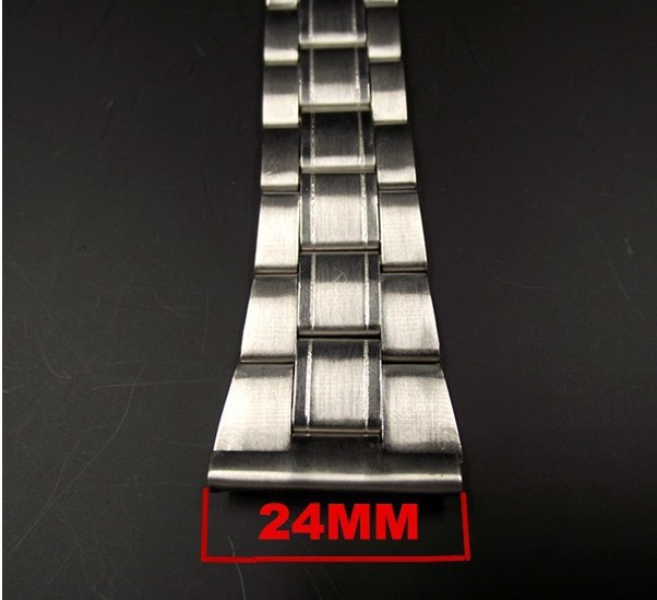 1PCS High quality 24mm stainless steel watch band watch strap - 502906