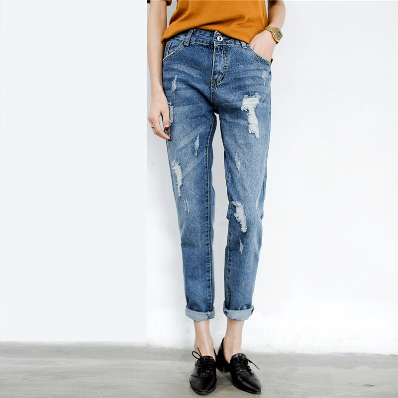 High Quality Boyfriend Jeans for Women Free Shipping-Buy Cheap ...