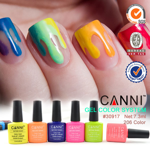 CANNI factory nail art wholesale art suppliers cosmetics 206 color ...