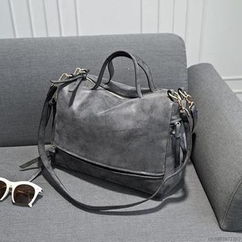 new arrive women shoulder bag nubuck leather vintage messenger bag motorcycle crossbody bags women bag.jpg 350x350