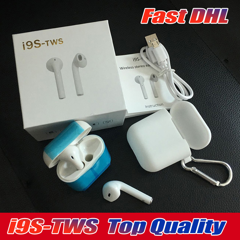 30PCS Lot Good Quality Mini I9S TWS In Ear Wireless Bluetooth sport earphones with Charging Box