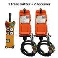 Receptor industrial do ce fcc F21-4D dois da velocidade do controle remoto 4 canais 2 do guindaste de telecontrol