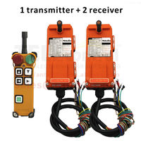TELEcontrol Industrial Crane Remote Control 4 channels 2 speed CE FCC F21 4D two receiver