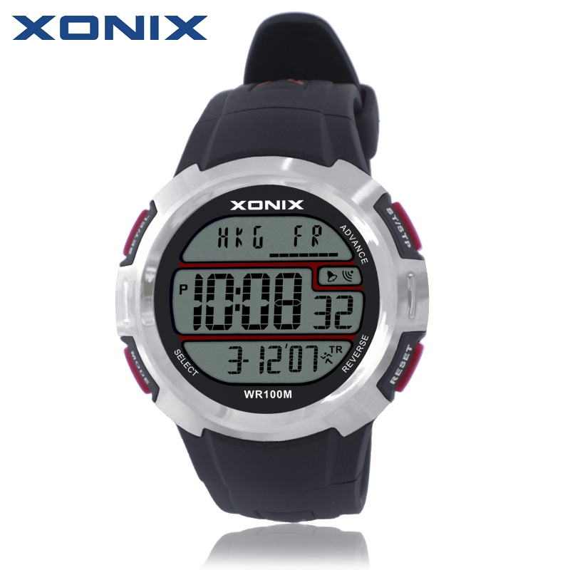XONIX World Time Men Sports Watches Waterproof 100m ...