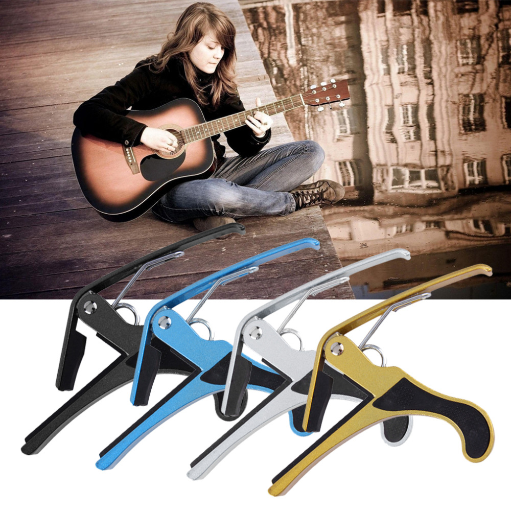 Metal Quick Change Tune Clamp Trigger For Acoustic Electric Classic Guitar free shipping