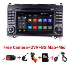 7″IPS Touch Screen Android 8.1 Car DVD Player for Mercedes-benz B200 W169 A160 Viano Vito GPS NAVI RADIO BT wifi 3G dvr free map