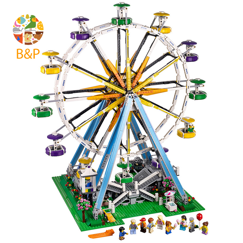 lepin Legoing 10247 2518pcs City series Expert Ferris Wheel Building Block Educational DIY Toy For Children Birthday Gift 15012 building blocks stick diy lepin toy plastic intelligence magic sticks toy creativity educational learningtoys for children gift