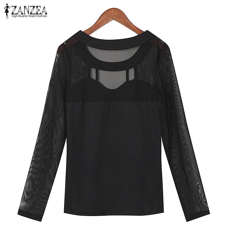 HTB1i CEOFXXXXapaXXXq6xXFXXX8 - Autumn Sexy Long Sleeve O Neck Solid Blusas Shirts