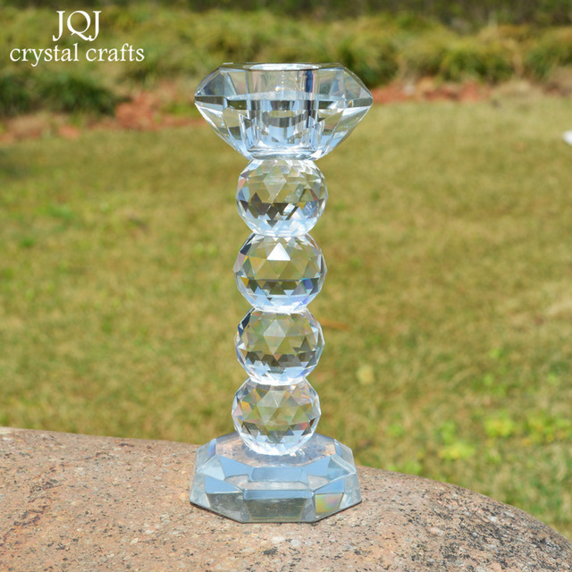 Aliexpress.com: Comprar Cristal photophore verre Candle Stand ...