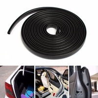 4M 13ft Black Edge Trim Rubber Seal Scratch Protector Guard Strip For Cars Metal Edges Boats