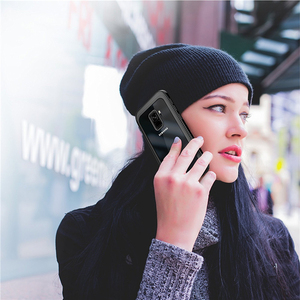 Image 5 - גוף מלא הגנה מחוספס ברור פגוש עמיד הלם מקרה לסמסונג גלקסי S9 S9plus נגד שריטות חיצוני ספורט Coque