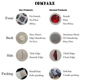 Image 4 - YANRUO 3265 All Sizes Lt.Siam Cosmic Flatback Glass Stones Sew On Rhinestone Crystals Strass For Wedding Dresses