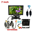 "CARPRIE 7"" TFT LCD Car Rear View Backup Monitor wireless parking camera Night Vision Camera Kit"