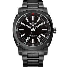 YELANG V3.3 plus super jasny gaz trytowy luminous męskie szafirowe lustro mężczyźni biznes stop tytanu automatyczny zegarek mechaniczny