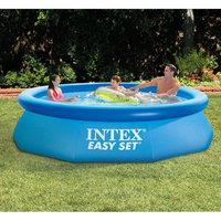 305*76CM Intime Adult Infant Inflatable Ocean Plus Size Large Plastic Children Swimming Pool With Water Pump