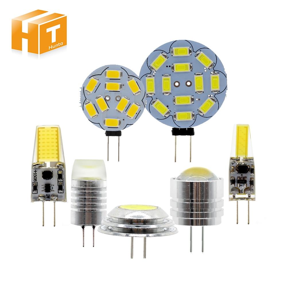 6pcs/Lot 12V G4 LED Bulb Light 2W 3W 4W Small LED Corn Light G4 Small Spotlight.