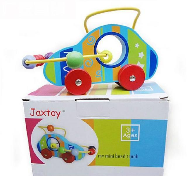 Baby Kid Marke holz fahrzeug block/Kinder Zählen Wendig Bildung auto ...