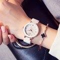 Kezzi Марка Новая Мода Керамические Часы Женщины Элегантный Волна Затенение Циферблат Платье Часы Роскошные Дамы Случайные Часы Relogio Feminino