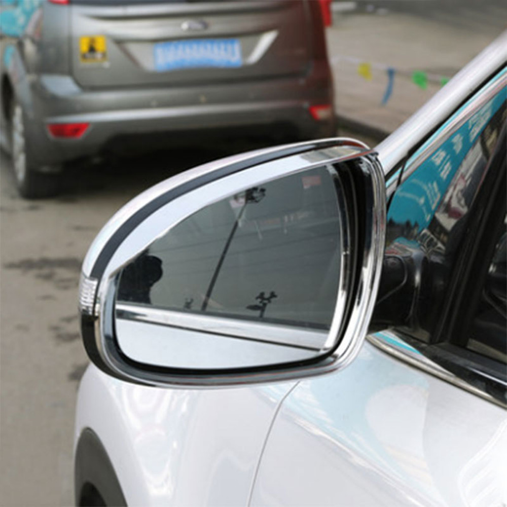Color My Life Car <font><b>Chrome</b></font> Rearview <font><b>Mirror</b></font> Protection Trim Cover Rear View <font><b>Mirror</b></font> Sticker For <font><b>Kia</b></font> Sportage Kx5 QL 2016 2017 Parts image