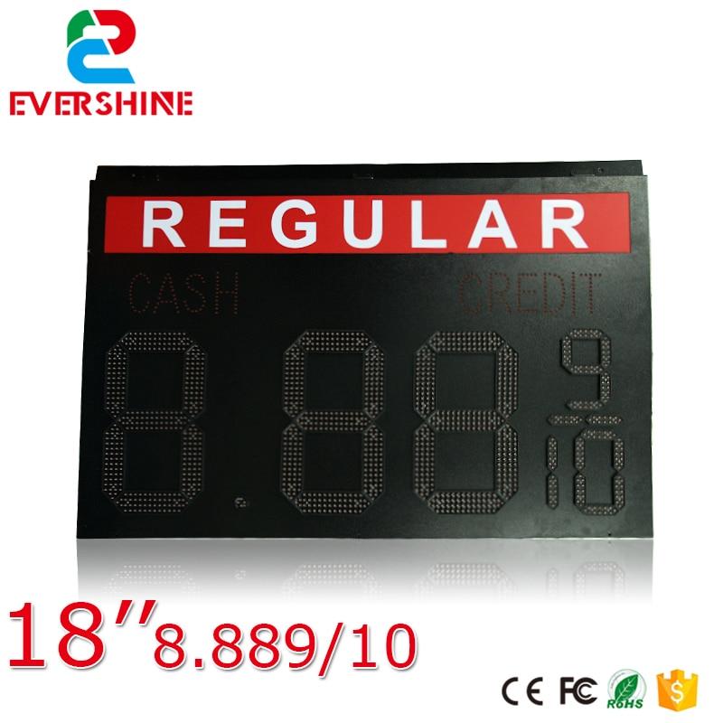 2017 novo produto regular ao ar livre painel de led preco do gas 8 889 10