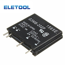 1pcs Relay Module G3MB-202P G3MB 202P DC-AC PCB SSR In 5V DC Out 240V AC 2A Solid State Relay Module XF30 pcb 4 pin ssr solid state relay in 3 32v dc out 2a 380v ac hhg1 1 032f 38 2z