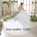 Strapless White Train Wedding Dress Strapless Lace Sexy Wedding Gowns Bride Wedding Dresses 2016 Design Vestidos De Novia HS585