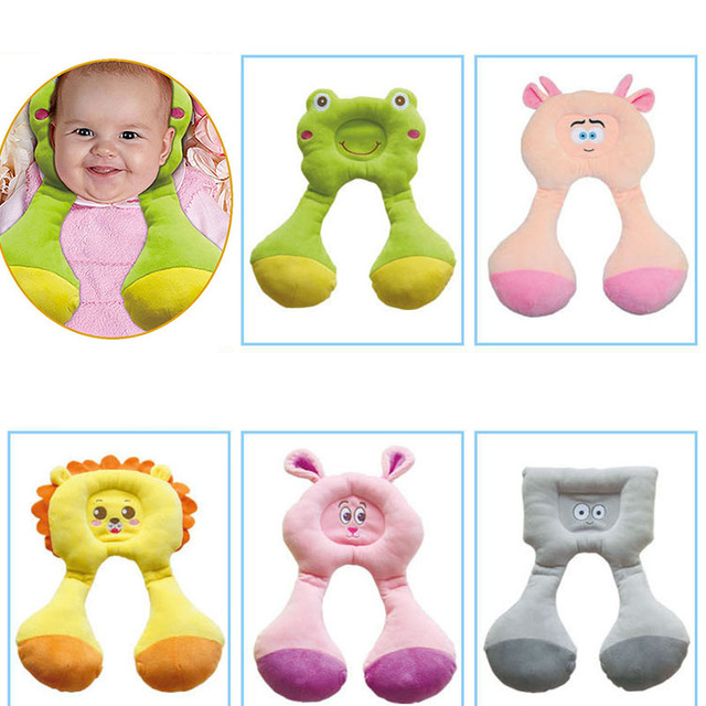 5 estilos de alta qualidade relaxar côncavo adorável super caráter bonito do animal do bebê anti-enxaqueca forma almofadas de espuma de memória
