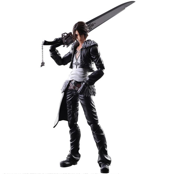 Free Shipping 11 PA KAI Final Fantasy 8 Squall Leonhart Boxed 28cm PVC Action Figure Collection Model Doll Toy Gift