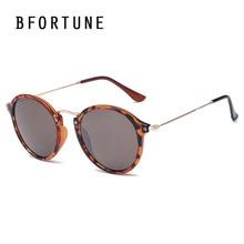 BFORTUNE 2017 Ronda Vintage gafas de Sol Mujeres Diseñador de la Marca Capa de Espejo Gafas de Sol Gafas de sol UV400 Oculos Femininos mujer