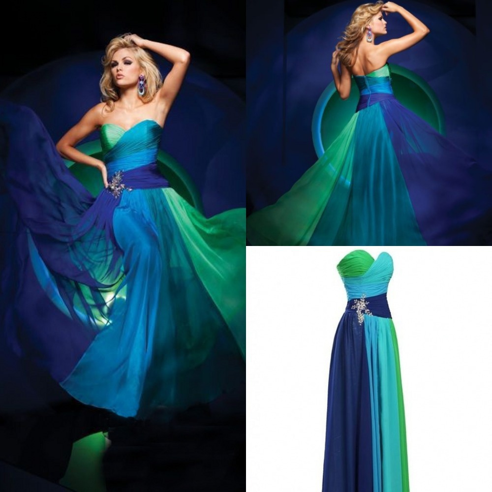 Colorful Bridesmaid Indian Dresses Collection - All Wedding Dresses ...