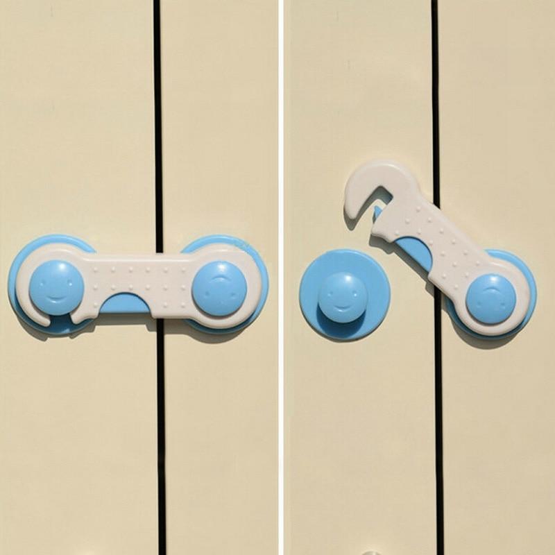 10PCS Baby Safety Refrigerator Drawer Cupboard Cabinet Wardrobe Door Fridge Safety Lock