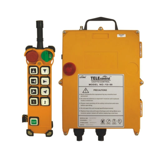F24-8D Industrial Radio Remote Control for Hoist and Crane/Crane Remote Switches (1T+1R) AC/DC65V-440V limit switches bm 1r a2