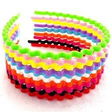 Конфеты Цветной детей обруч, голову обруч, волна Пластик кольца