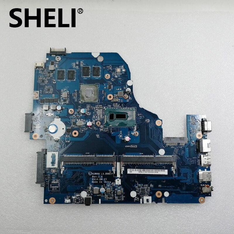 SHELI I5 5200U GT840M Motherboard for font b Acer b font Aspire E5 571G V3 572G