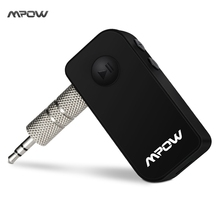 Mpow Mini Bluetooth 4.1  Receiver Wireless Adapter with Mic for Audio Music Streaming Sound System Bluetooth Car Kits