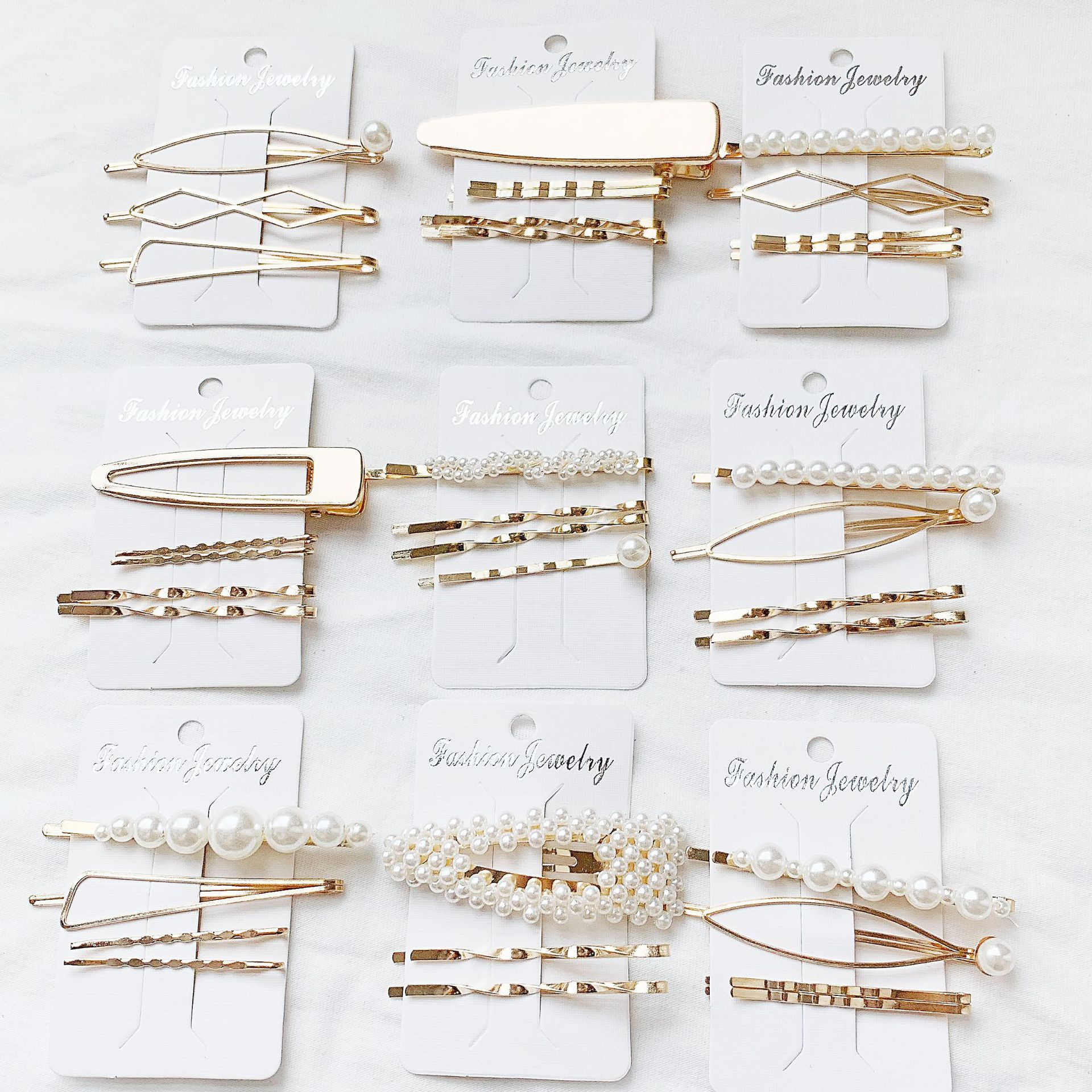 Girl Hairpins Pearl BB Hair Clip Korean Style Summer Latest Accessories Women Birthday Wedding Party Holiday Dress Up